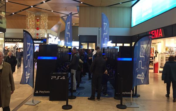 PS4 winkelcentrum