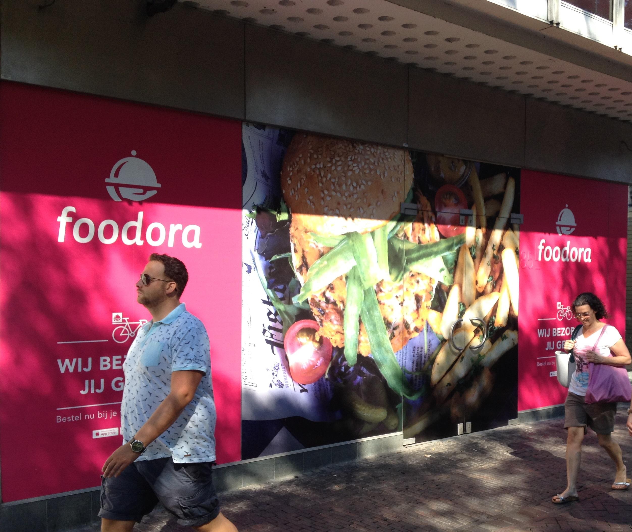 Bestel nu bij Foodora