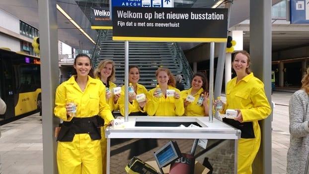 Housewarming U-OV: Welkom op jouw nieuwe busstation