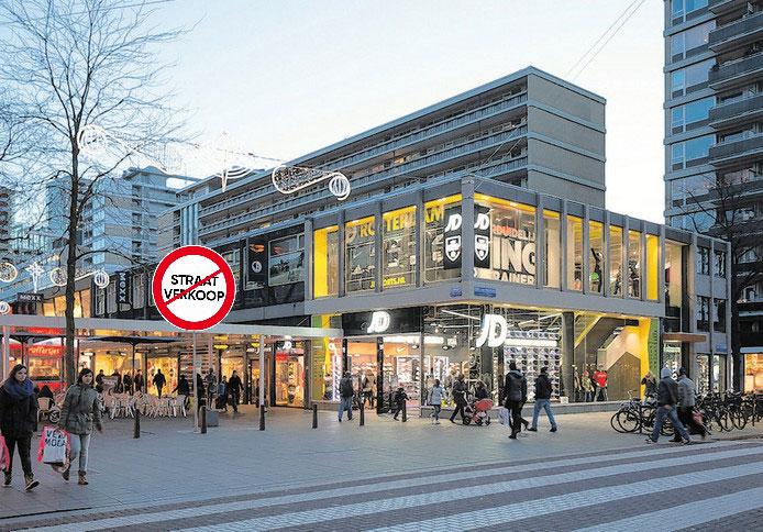 Straatverkoop verboden Rotterdam