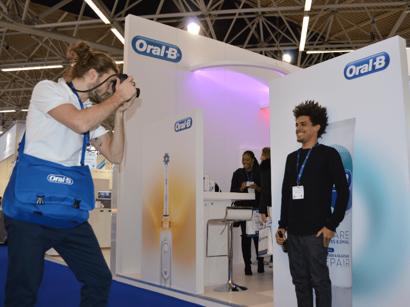 Fotomarketing campagne Oral B