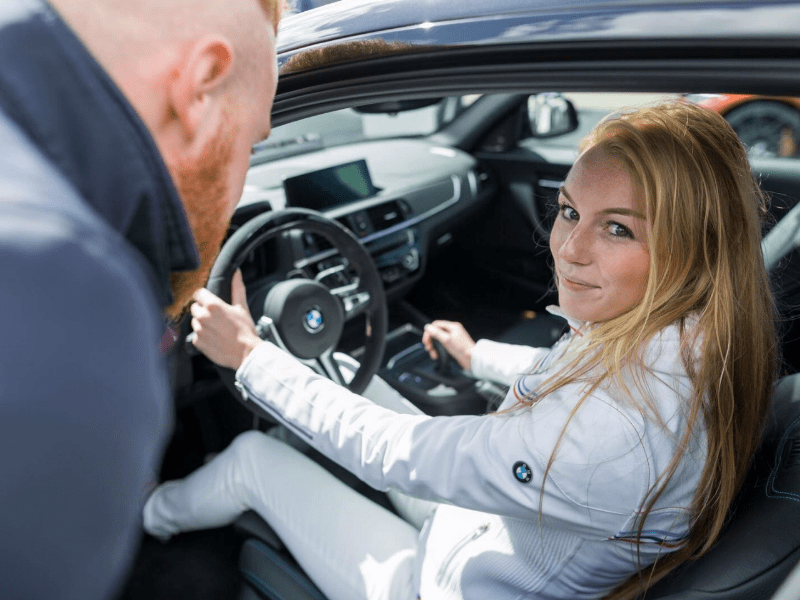 Hostess BMW promotiecampagne