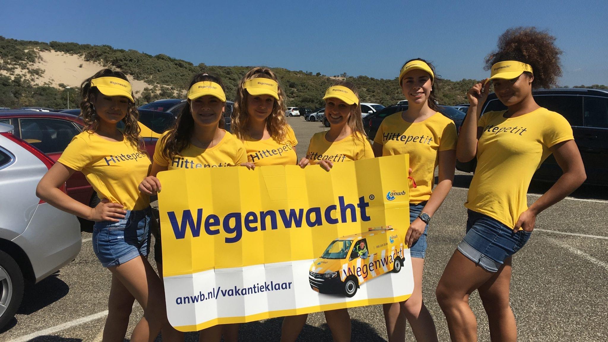 Hitteblog: Hittepetits van ANWB zorgen voor koele auto's in Wassenaar
