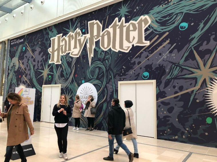 Pop-up store Harry Potter in Hoog Catharijne activeert de consument
