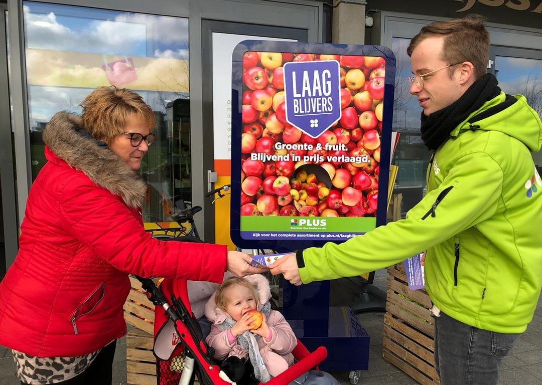 Hoogvliegers van Dutch Moving Media activeren voor Laagblijvers PLUS