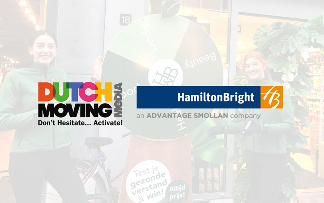 HAMILTON BRIGHT VERSTEVIGT POSITIE IN NEDERLAND MET OVERNAME DUTCH MOVING MEDIA